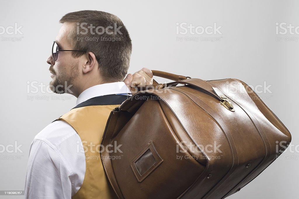 business trip royalty-free stock photo