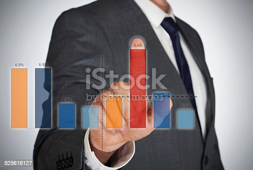 istock Business virtual graphic 525616127