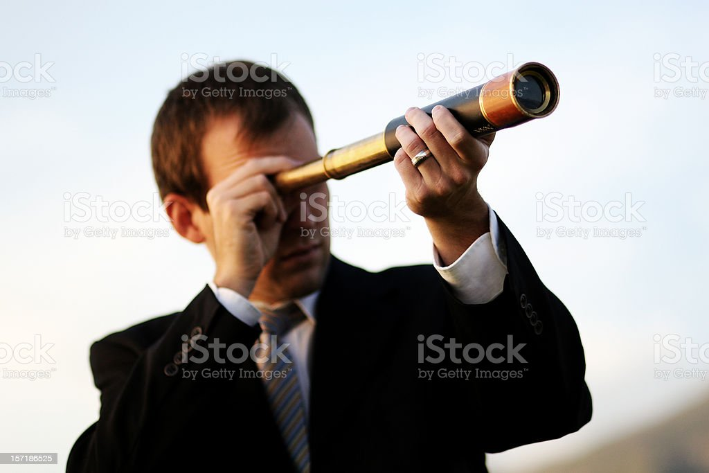 Business Vision royalty-free stock photo