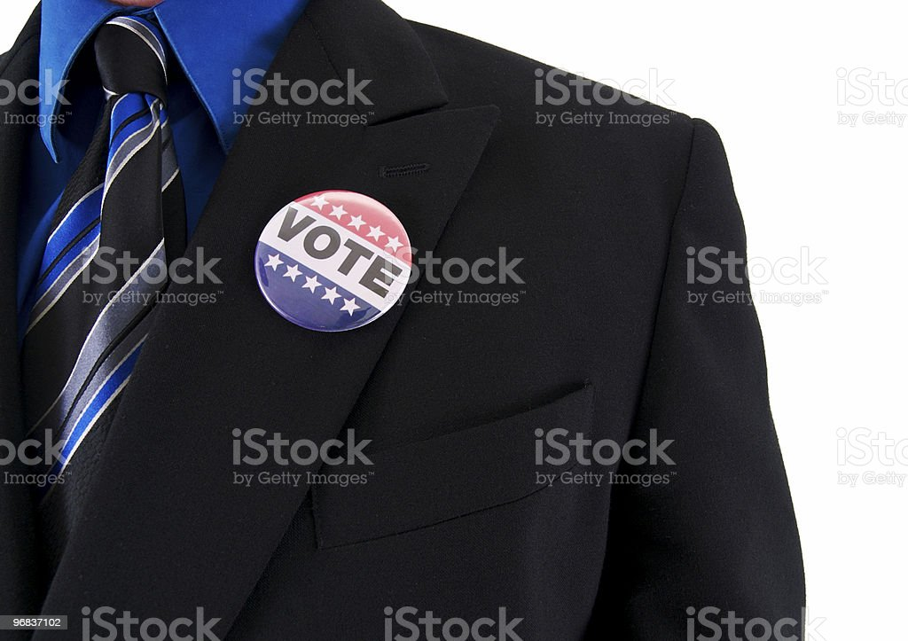 Business Voter royalty-free stock photo