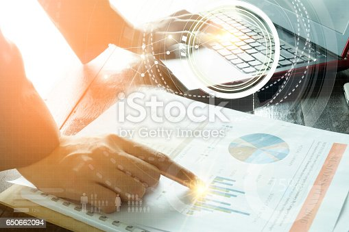 istock business with laptop connection technology interface 650662094