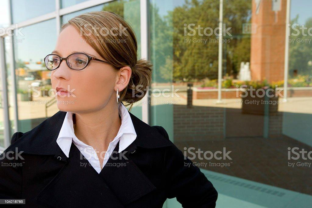 Business woman 2 stock photo