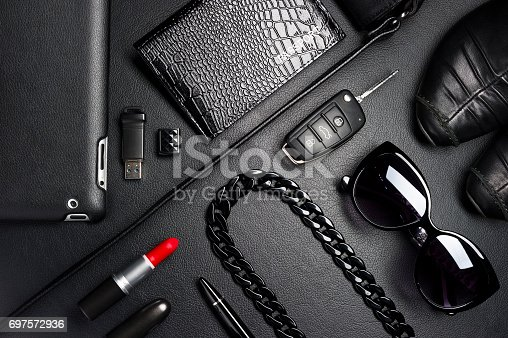 istock Business woman accessories 697572936
