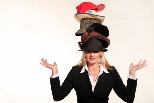 In todays busy world, many of us have to wear many hats.  Having to be a business woman,put out fires,hunt for  leads,play like a kid, and many of things.