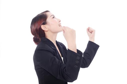500150419 istock photo business woman cheering 148082049
