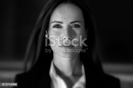 istock Business woman close up 615744066