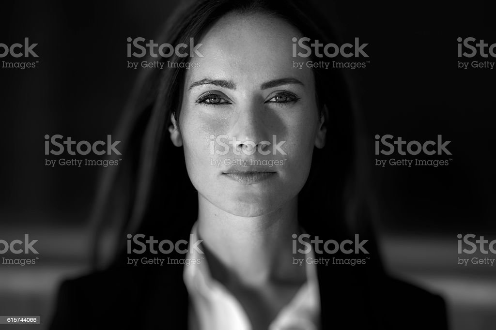Business woman close up stock photo