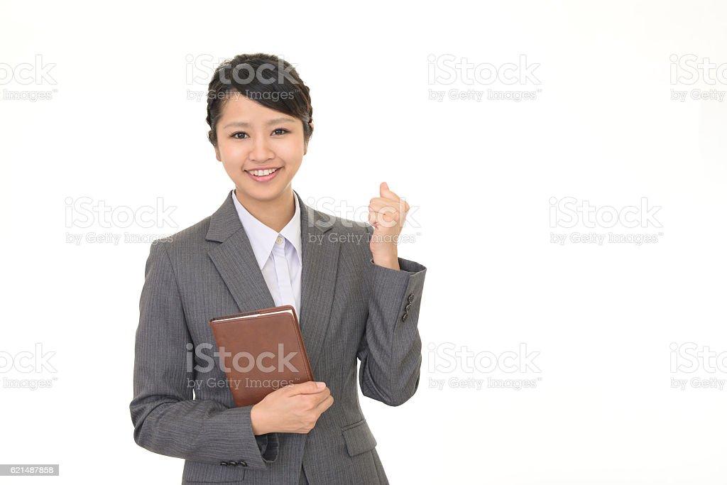 Femme d'affaires de succès photo libre de droits