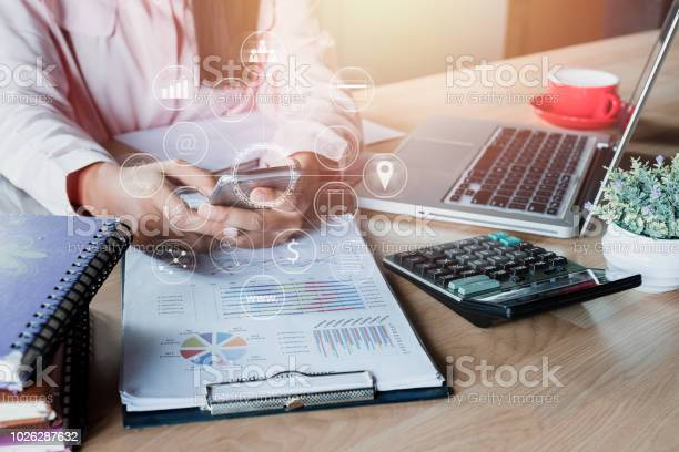 Business woman hand using smartphone with digital marketing via on picture id1026287632?b=1&k=6&m=1026287632&s=612x612&h=qn3egtnhca5djjfidu8uabedfyvujp xnmwdclkokqc=