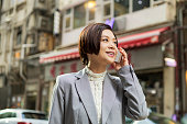 asian, woman, business clothing, urban, hong kong, middle aged, 30-40 years, wan chai, chinese