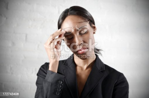 istock Business Woman Headache 172743408