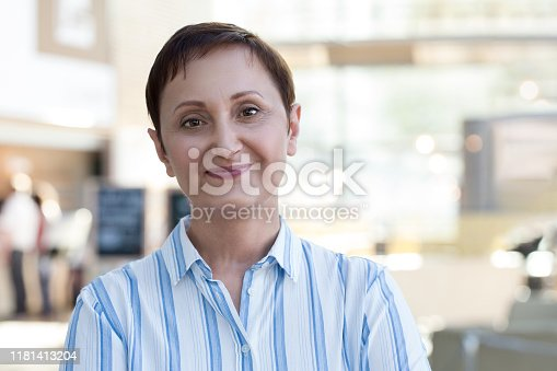 981750034 istock photo Business woman headshot 1181413204