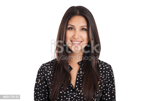 istock Business Woman Headshot Portrait 465479132