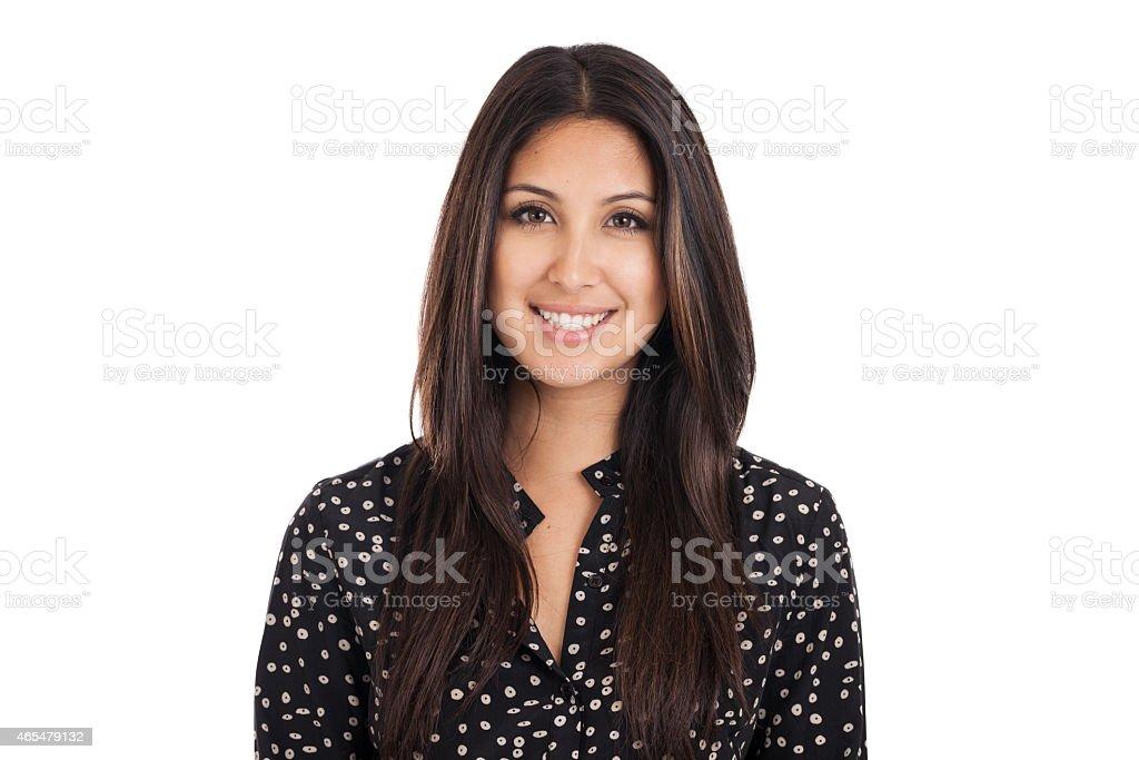 Business Woman Headshot Portrait stock photo