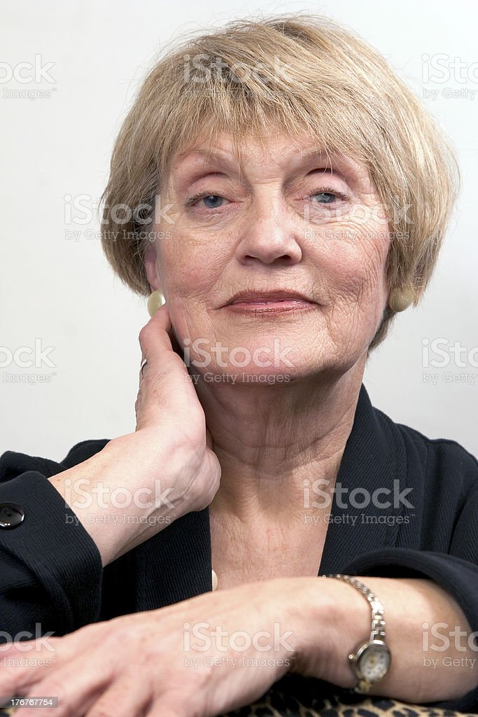 Business woman in her 60s royalty-free stock photo