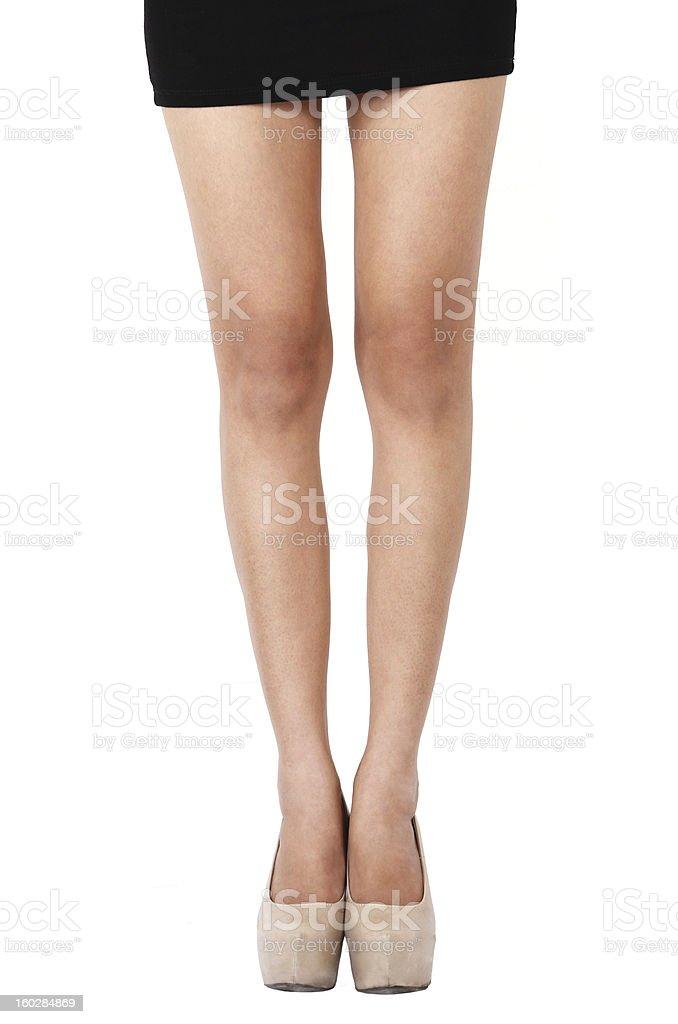 Business woman leg royalty-free stock photo