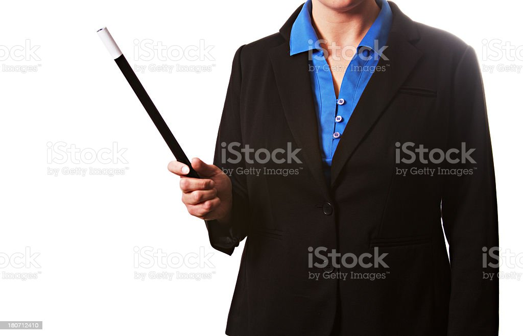 Business Woman Magician royalty-free stock photo