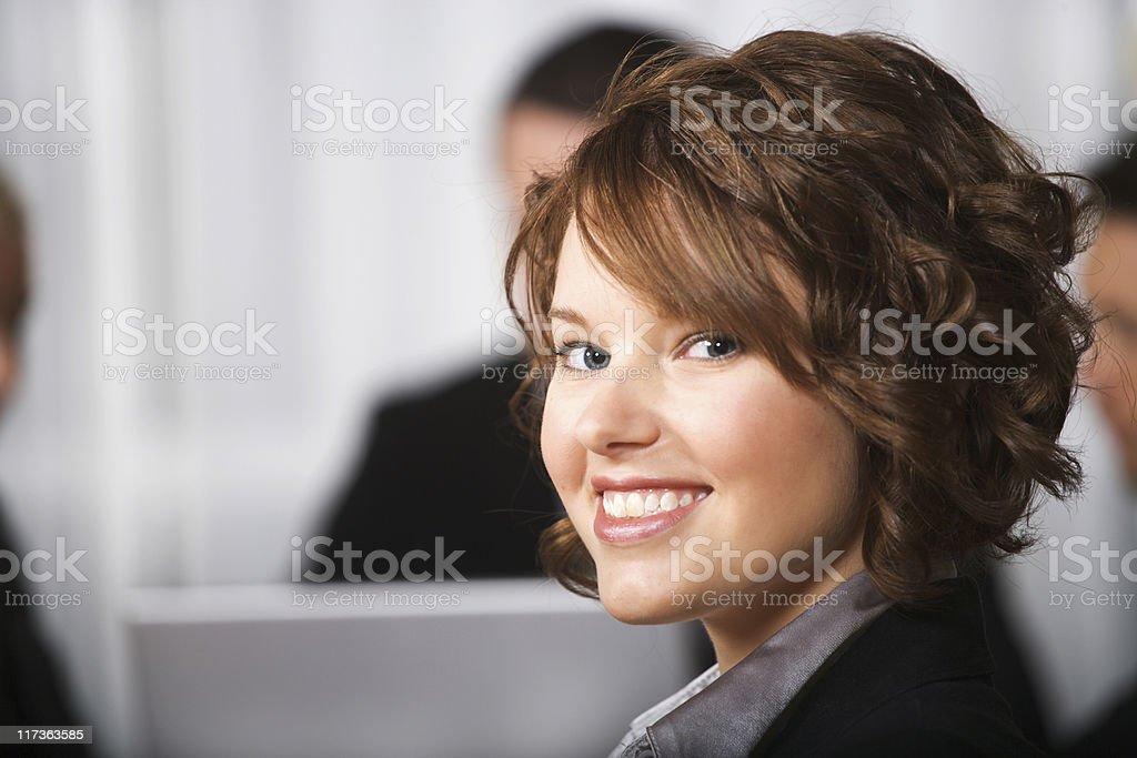 Business woman (XXL) royalty-free stock photo