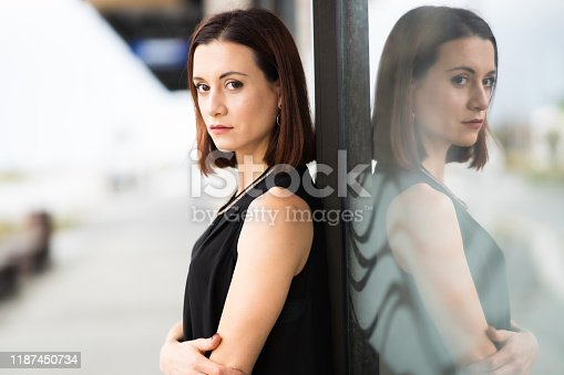 981750034 istock photo Business woman. 1187450734