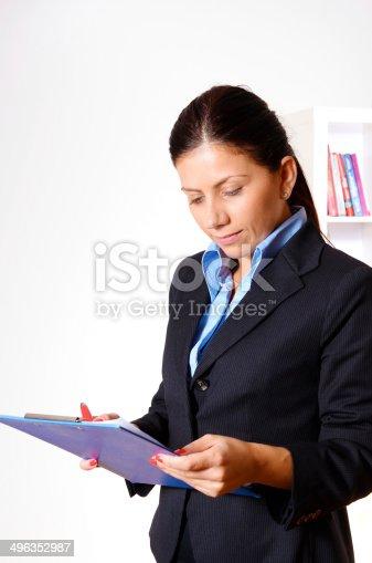 istock Business woman 496352987