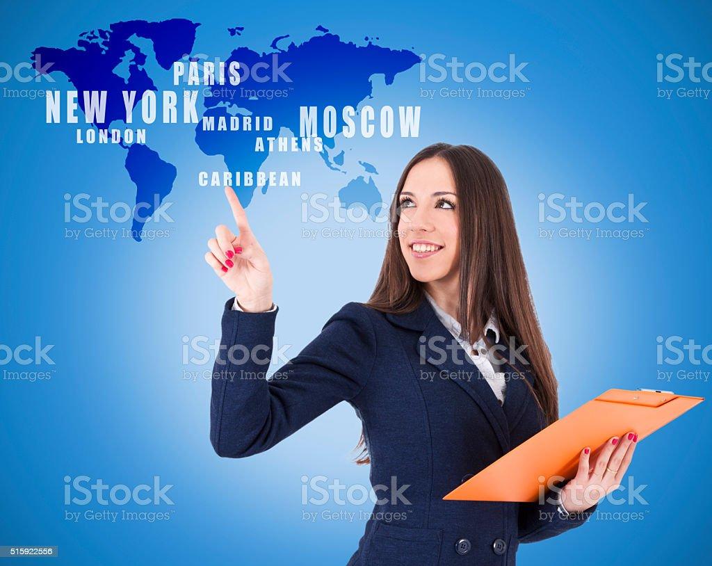Mulher de negócios - foto de acervo
