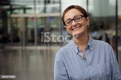 istock Business woman 600375364