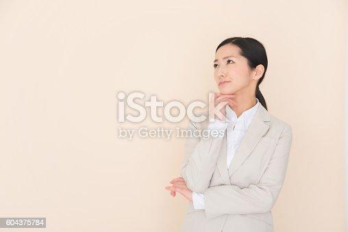 istock Business woman 604375784