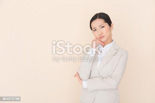 istock Business woman 604375798