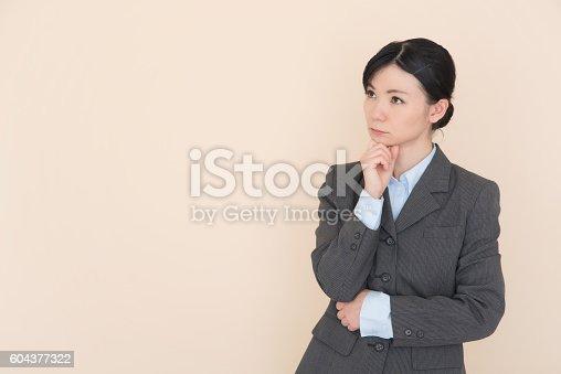 istock Business woman 604377322