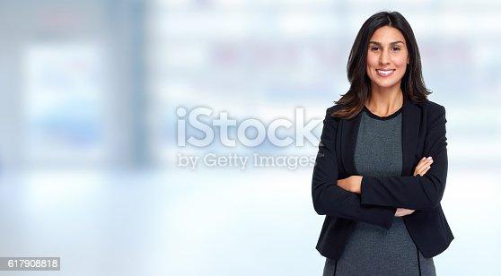 istock Business woman. 617908818