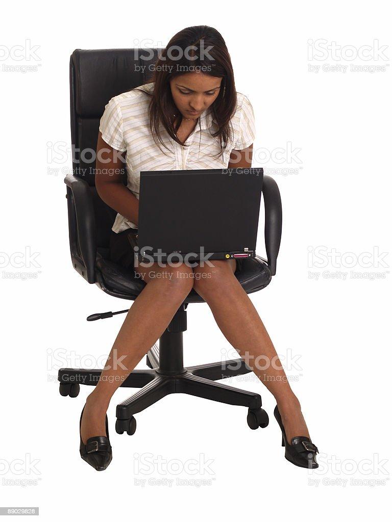 Business Frau Lizenzfreies stock-foto