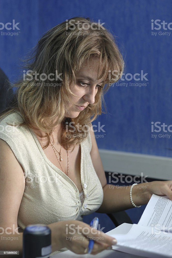 Femme d'affaires photo libre de droits