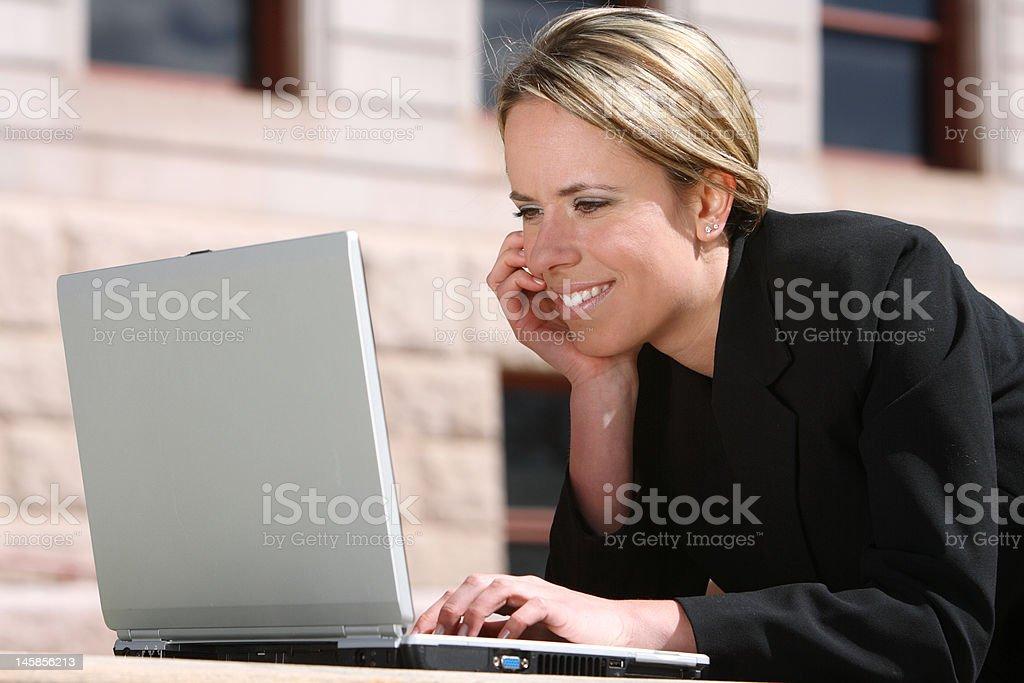 Business Woman Portrait royalty-free stock photo