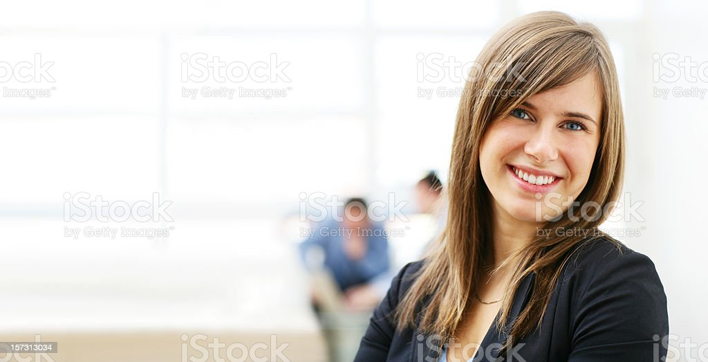 Business woman Portrait - Royalty-free Adult Stock Photo