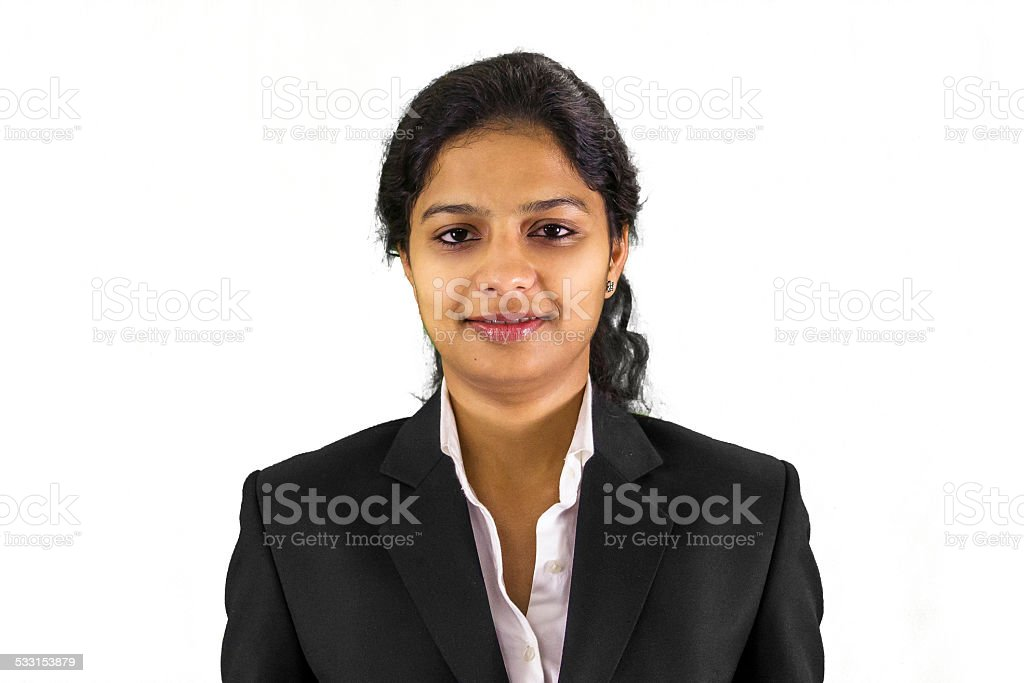 Business woman portrait. stock photo