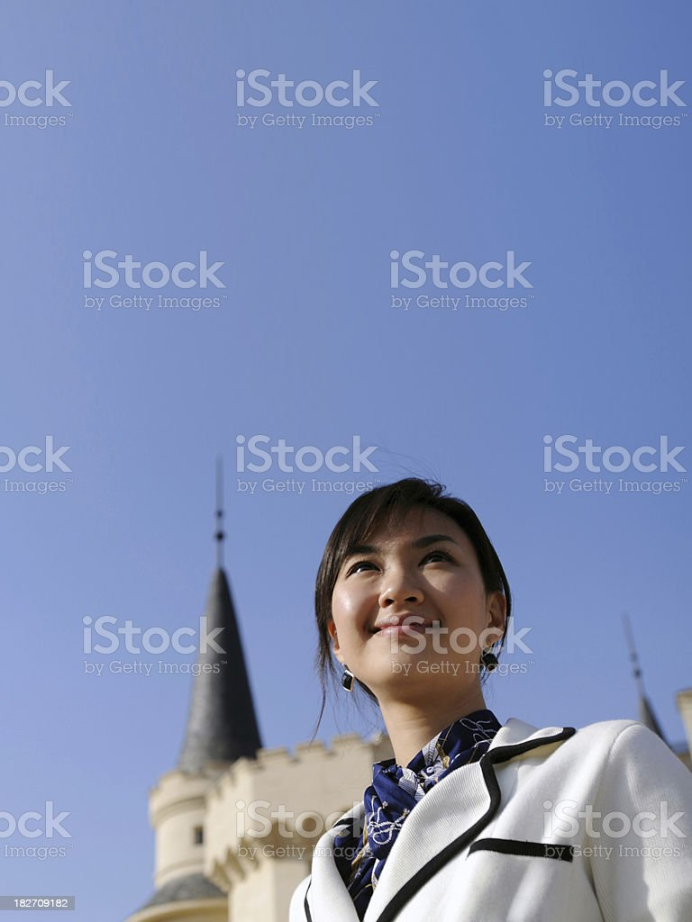 Business Woman Portrait - XLarge royalty-free stock photo