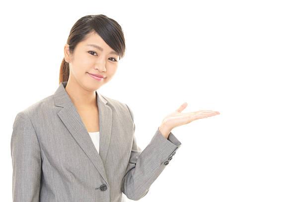 ビジネスの女性をする ストックフォト