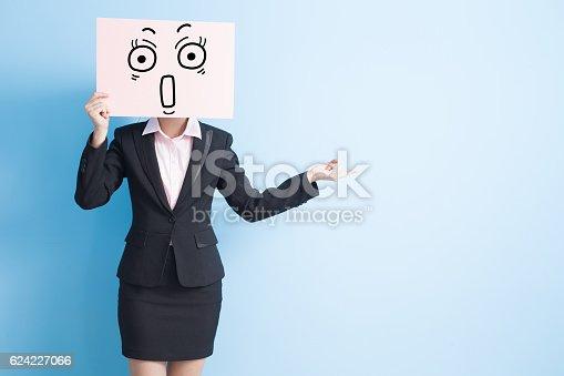 istock business woman take billboard 624227066