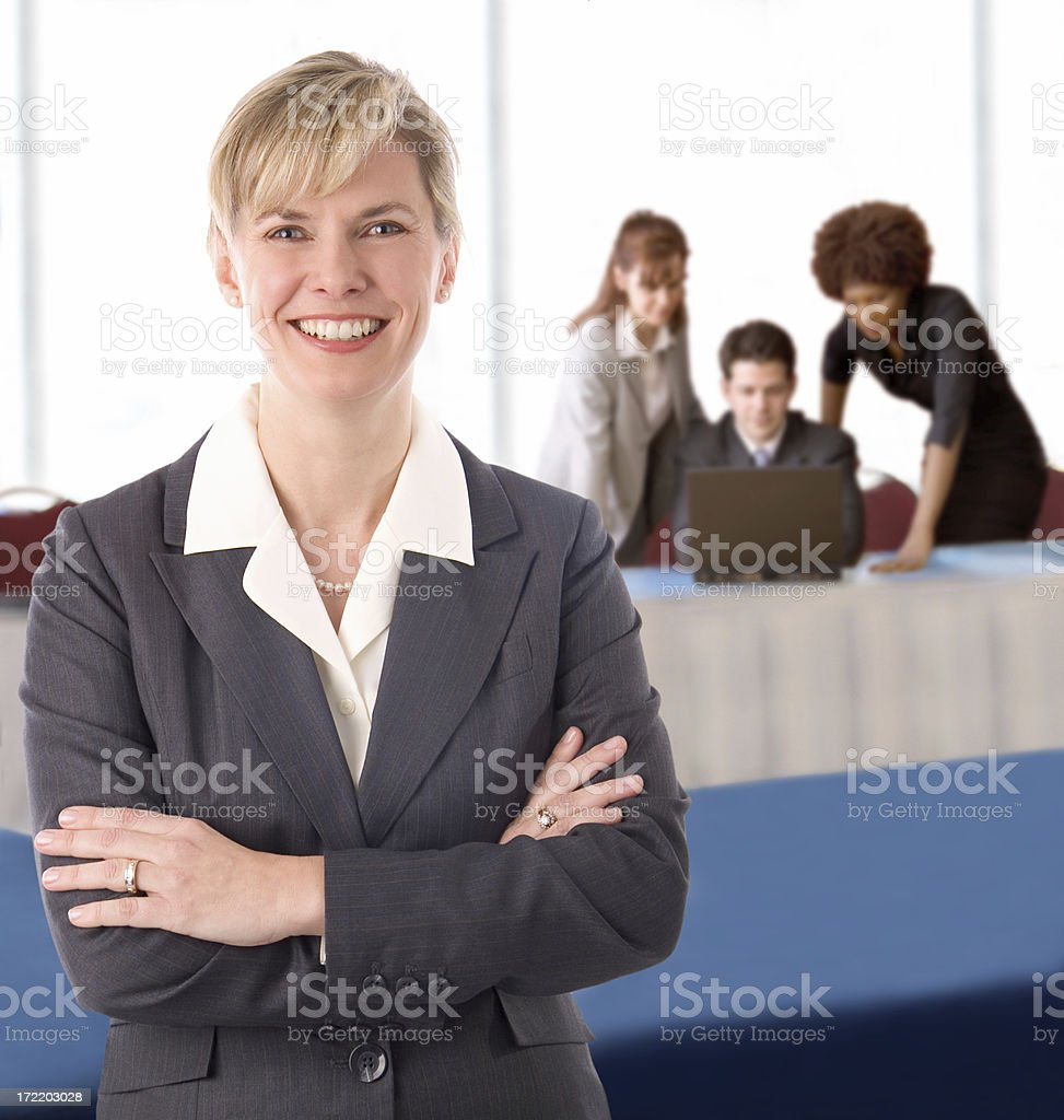 Business Woman Team royalty-free stock photo
