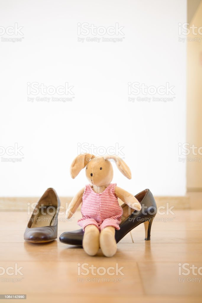 Business Woman with Child Concept stock photo