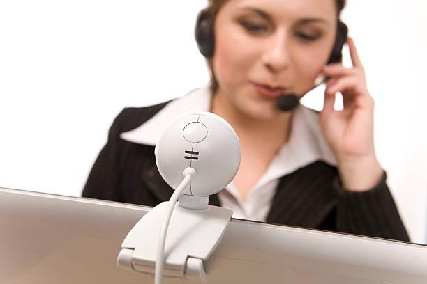 Business-Frau mit laptop – Foto