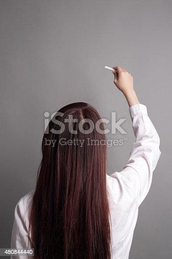 istock business woman writing 480844440