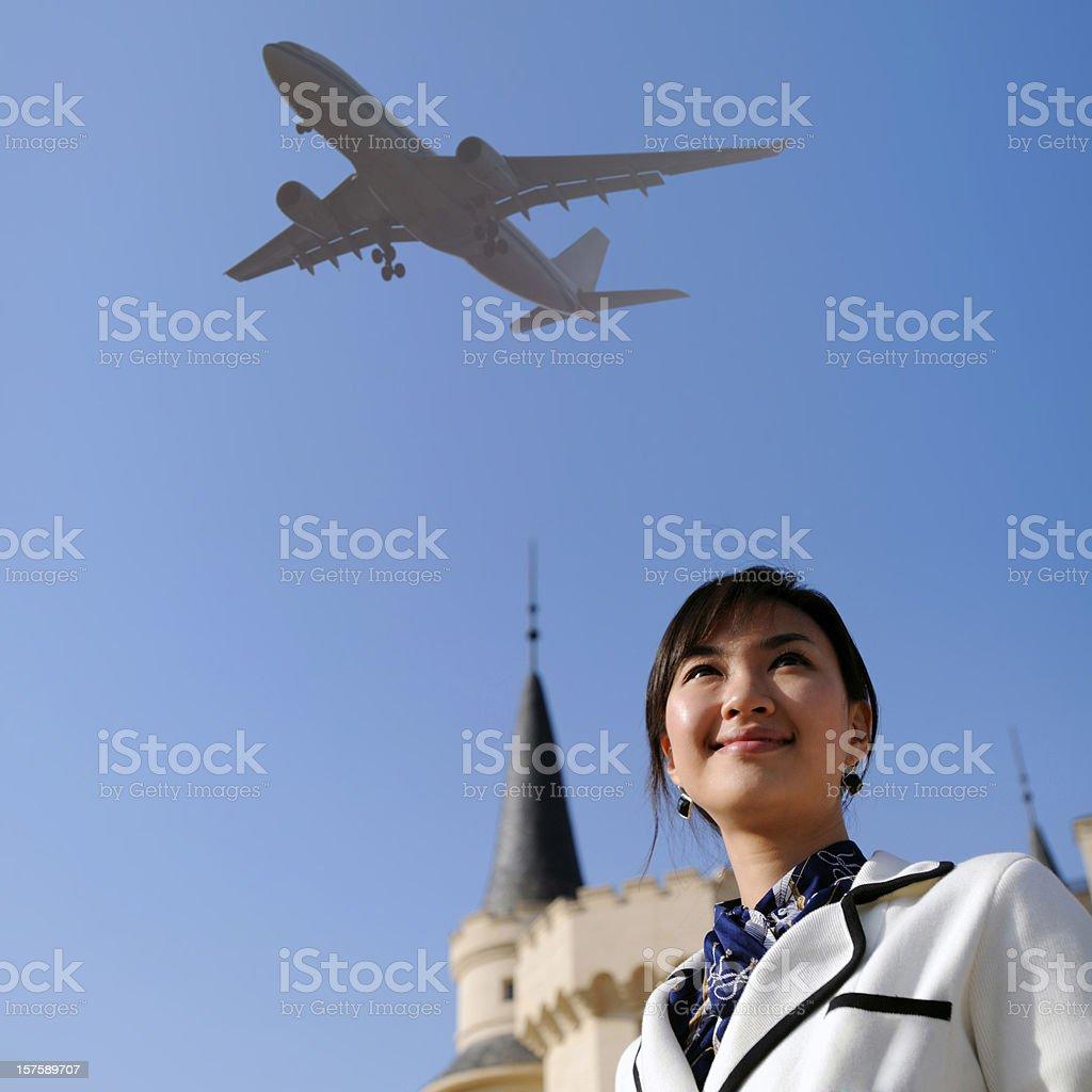 Business Woman - XXLarge royalty-free stock photo