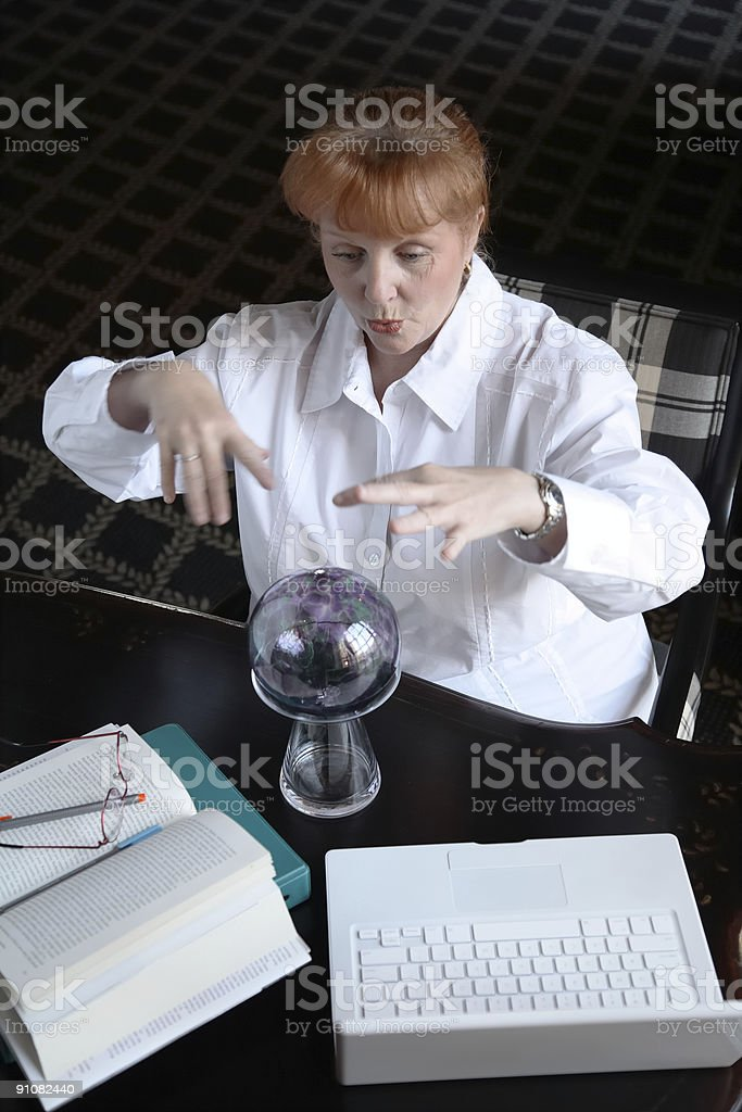 Business Woman/Student stock photo