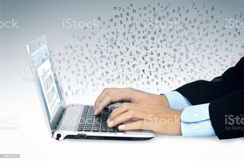 Business Word Work stock photo
