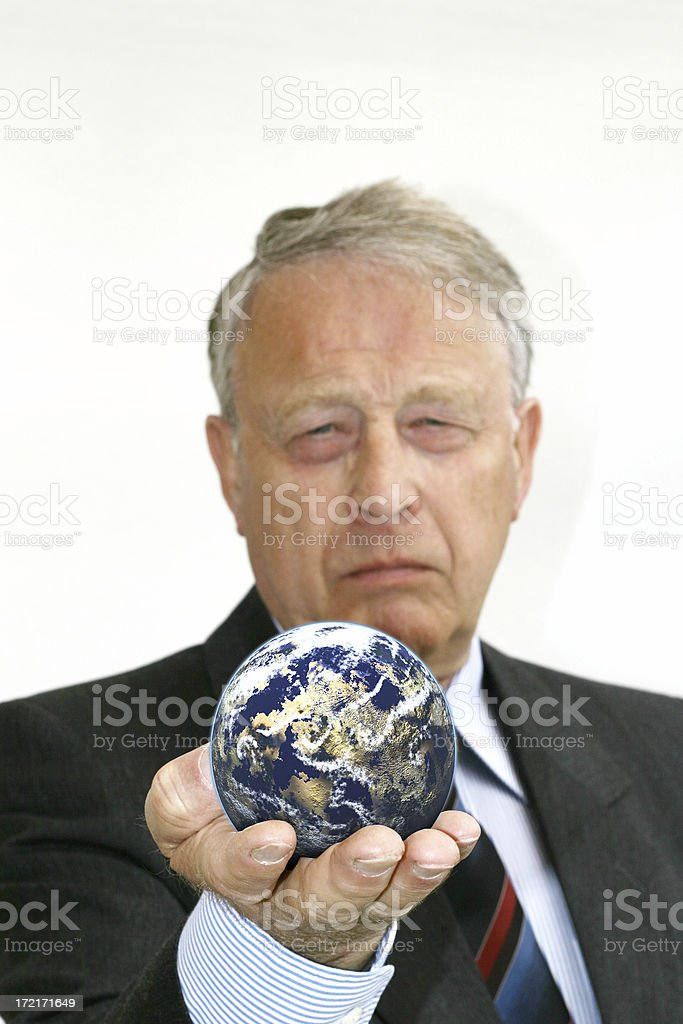 Business World royalty-free stock photo