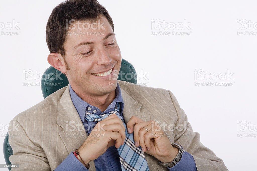 business young man stock photo