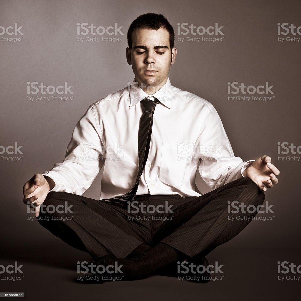 Business Zen royalty-free stock photo