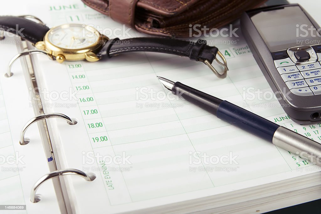 Businessman Accessories royalty-free stock photo