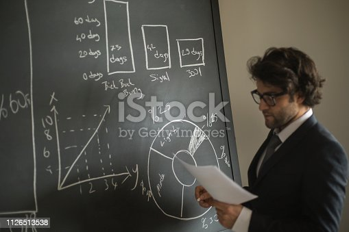 istock Businessman and problems 1126513538
